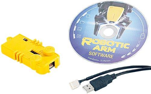 Playtastic Zubehör zu Roboterarm Bausatz: USB-Schnittstelle für Roboter-Arm NC-1424 (USB-Roboterarm)