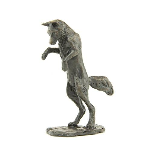 Scultura in bronzo Fox: Pouncing Fox Maquette by Sue (Numerato Parte)