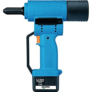 Battery Blind Rivet Gun 2.4 mm 2.2 kg/Gesipa AccuBird I. Metal Case