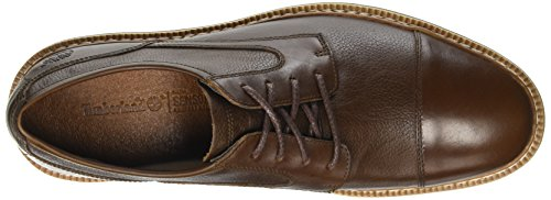 Timberland Herren Naples Trail_naples Trail Textured Ox Oxford Braun (Dark Rubber Eastlook FG W/ EMBOSS)