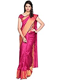 Indian Fashionista Women's Cotton Saree With Blouse Piece (Mhvr120-1545-5_Pink)
