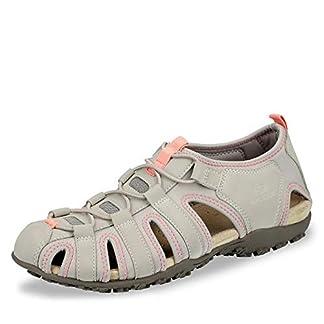 Geox Sandal STREL D9225A Damen Trekking Sandalen,Frauen Outdoor-Sandale,Sport-Sandale,geschlossener Zehenbereich 1