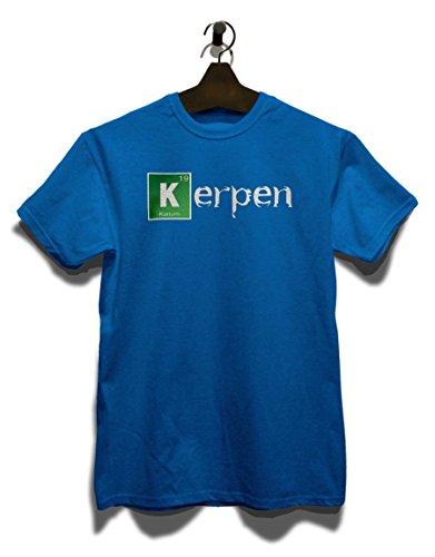 Kerpen T-Shirt Royal Blau