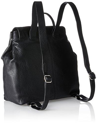 Clarks - Totterdown Bay, Borse a zainetto Donna Nero (Black Leather)