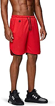 Docooler Men's Workout Running Gym Shorts 2 in 1 Athletic Shorts with Pockets Outdoor Sports Trainning Sh