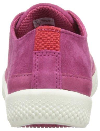 Fitflop Super T Sneaker Suede, Baskets basses femme Rose - Rio Pink