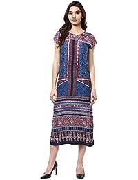 Akkriti by Pantaloons Women's Rayon Dress
