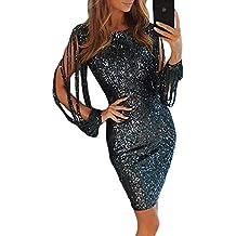 Vestido De S Mujer Fiesta Aleumdr Falda Xl Elegante Noche Para Moda Size AqRwwZ5E