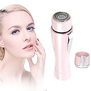 Painless Facial Hair Remover,XIAO MO GU Flawless Ladies Facial Hair Trimmer - Effective Removal of Peach Fuzz, Chin & Upper Lip Moustache Hair