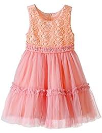 Lilliput Kids Coral Partywear Dress 110002905