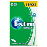 Extra Spearmint Chewing Gum Multipack 3 x 14 Pieces (81g)