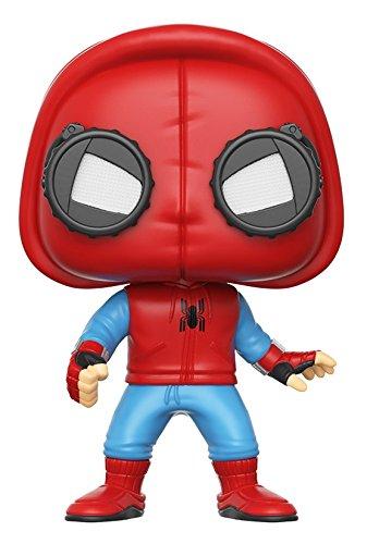 Funko - Spider-Man (Homemade Suit) figura de vinilo, colección de POP, seria Spider-Man Homecoming (13315) 1