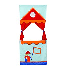 roba 6971 – Teatro dei Burattini per La Porta Set di 6 Marionette
