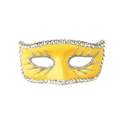 e Kragen Brosche Halloween Pin Braut Hochzeit - Gelb (Strass Halloween-pins)