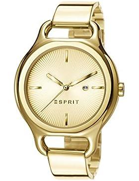 Esprit Damen-Armbanduhr Naomi Analog Quarz Edelstahl beschichtet ES107932002