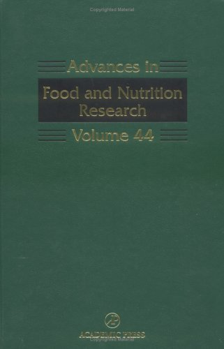 Advances in Food and Nutrition Research, Vol. 44 (2002-03-08)