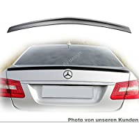 Viviance Abs Rear Trunk Boot Lid Lip Car Spoiler Wing F/ür Mercedes E-Klasse W212 4Dr 2009 Bis 2016