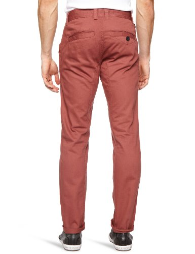 Bellfield - Pantalon - Slim - Homme Rose (Mulberry)