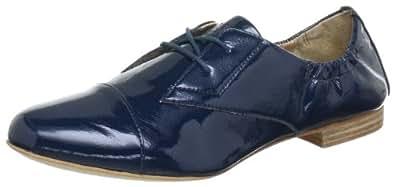 Marc O'Polo Lace up 10353401405, Damen Schnürhalbschuhe, Blau (petrol 855), EU 36 (UK 3.5)