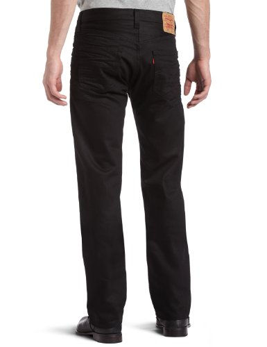Levi's Herren Jeans 501 Original Fit Noir - Black (Polished Black)