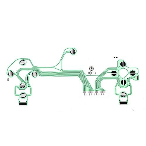 JunYe Conductive Film Controller Tastatur Flexkabel PieceB JDS-055 Slim Platine Ersatzknöpfe Tape für Sony Playstation 4 PS4 (Sony Tape-adapter)