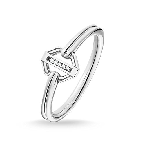 Thomas Sabo Damen-Ring Vintage silber Glam & Soul 925 Sterling Silber D_TR0036-725-14-56