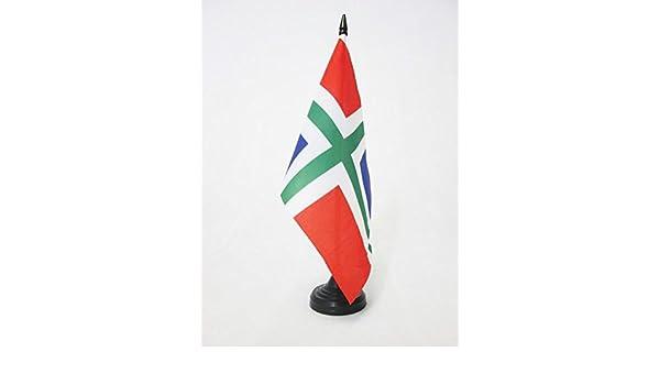 flaggen AZ FLAG TISCHFLAGGE EINFARBIG GR/ÜN 21x14cm EINFARBIG TISCHFAHNE 14 x 21 cm