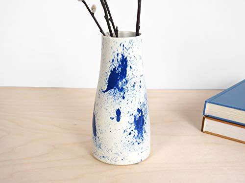 Splash Vase - ontwerp wit keukengerei huis vasen aardewerk modern spritzer spritzen porselein wohnung diner deko-ration keramiek