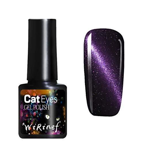 er Nagellack und Katzenauge-Nagellack glänzen im Dunkeln, Elegant und charmant, passend für Ihren edlen Charme Watopi ()