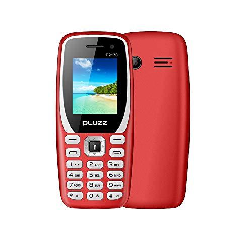 Fulltime E-Gadget 1.77-Zoll Funktionale Telefonkamera FM-Dual-SIM-Karte großer Lautsprecher Handy (Rot)