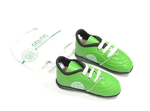 f1ea3a229 Celtic FC Football Club Hanging Car Window Mini Green Boots Official Product
