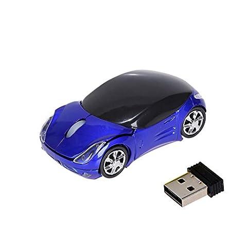 Elyseesen Souris optique sans fil sans fil de 1,2 GHz 1200DPI pour ordinateur portable tablette BU
