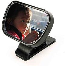 NWYJR Baby coche espejo claro seguro Simple asegurar instalar asiento trasero trasero completamente ajustable espejo retrovisor