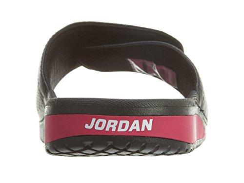 Nike Jordan Hydro 5 Gg, espadrilles de basket-ball femme Noir - Negro (Negro (Black / White-Vivid Pink))