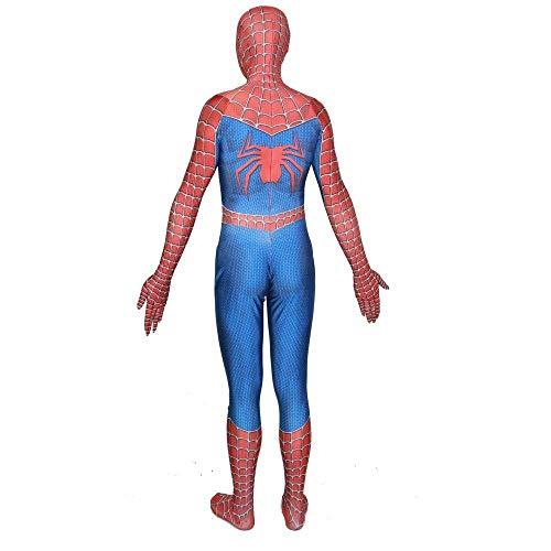 Spider Kostüm Offizieller Mann - HEROMEN Remitoni Spider Kostüm Halloween Cosplay Strumpfhose Kleidung 3D Print Ganzkörper Für Mann Erwachsene Kinder,A X-Large