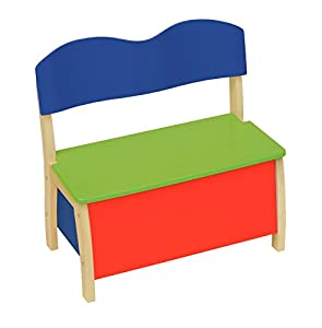 roba-kids - Banco baúl, multicolor (Roba Baumann 50768)