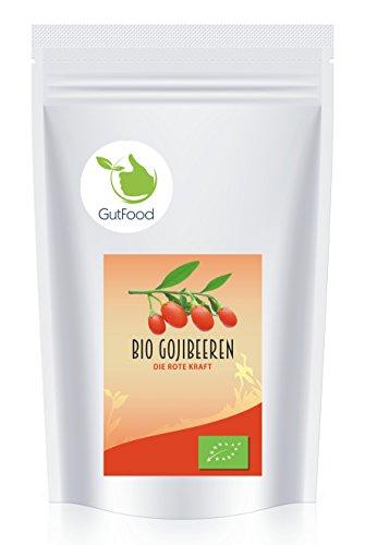Preisvergleich Produktbild Goldener Zweig – naturreine BIO Goji Beeren ganz – 1kg