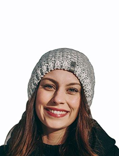 Preisvergleich Produktbild makalu Wintermütze Beanie mit Fleecefutter (Hellgrau) für Damen und Herren