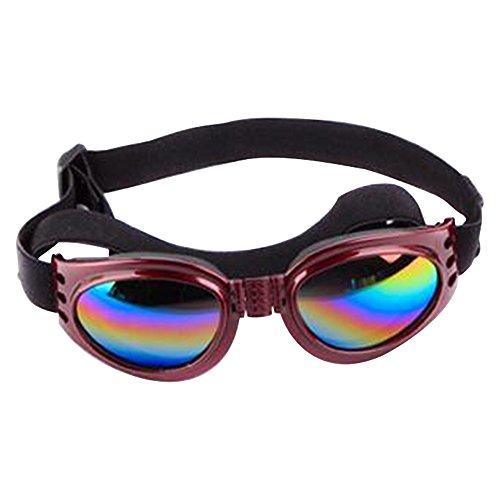 dulee Faltbare Pets Gläser Hunde Katzen Sonnenbrille UV-Schutz Brillen Fashion Pet Sonnenbrille