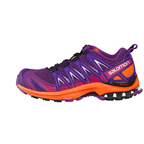 Salomon XA PRO 3D W, Scarpe sportive, Donna Grape Juice/Flame/Acai