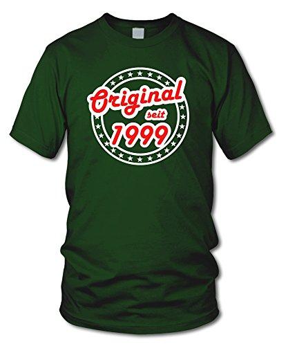 shirtloge - ORIGINAL SEIT 1999 - KULT - Geburtstags T-Shirt - in verschiedenen Farben & Größen Dunkelgrün