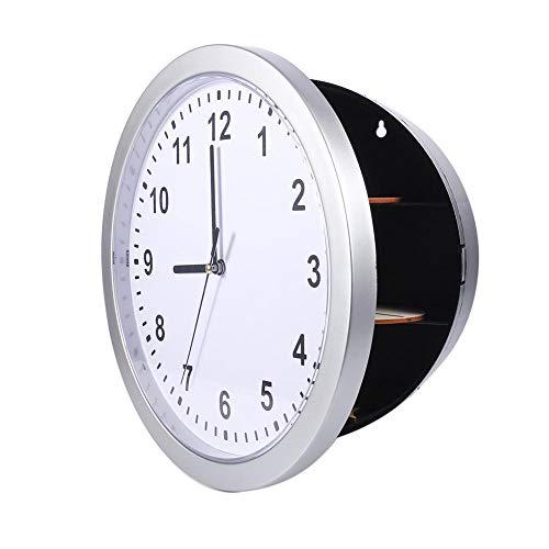 Garosa Trabajo Oculto Reloj De Pared Tres Compartimentos Estante Desvío Seguro Secreto...
