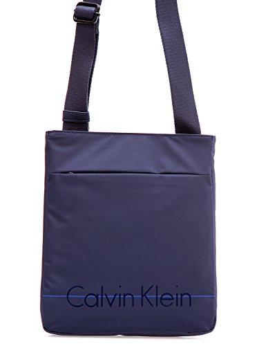 CALVIN KLEIN - Homme sac bandouliere logan 2.0 flat crossover k50k502044 bleu navy