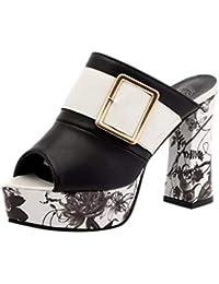 bb03d873599 Amazon.es  sandalias tacon alto - Cordones   Zapatos  Zapatos y ...