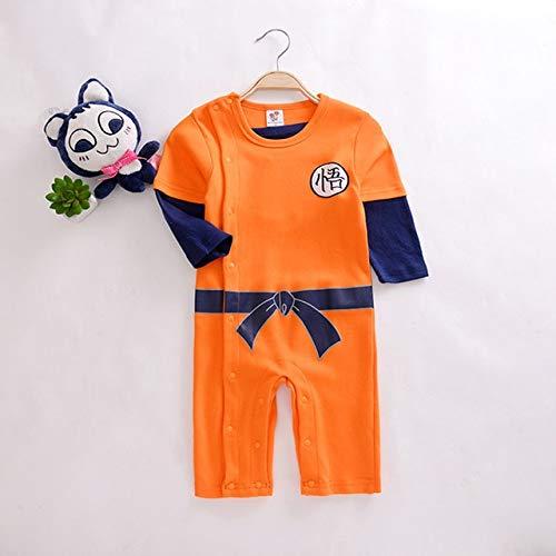 Lightsalt Dragon Ball Peleles bebé recién Nacido Ropa de niños Son Goku niño Mono Bebes d