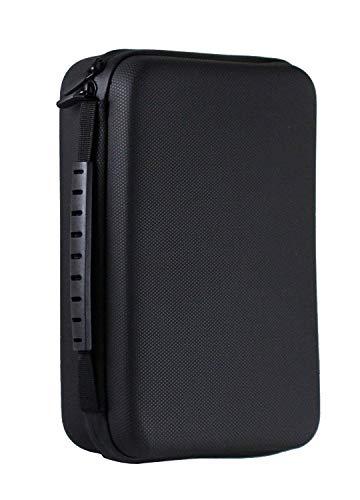 Navitech Etui Robuste Robuste Compatible avec Casque Noir Compatible avecJabra Evolve 75 / Jabra Engage 75 / Jabra Speak 710 / Jabra Move Style Edition/Jabra Elite 85h