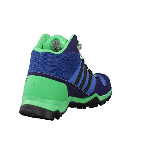 adidas Terrex Mid Gtx K, Bottes de Randonnée Mixte Enfant Bleu (Azubas/negbas/verene)