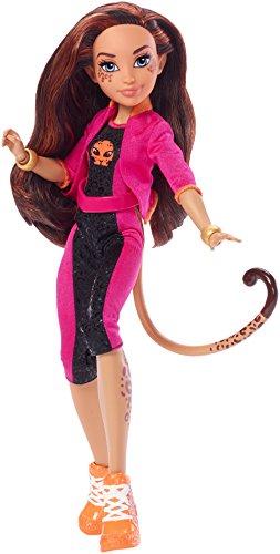 DC Super Hero Girls FMT06  Cheetah Action Puppe, 30 cm
