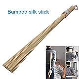 Elitemill Forte Resistente Professionale Bamboo Piante Supporto Giardino Canne, Bambù Naturale Massaggio Corpo Attrezzi Fitness Pat Martello Salute Cura Bastone