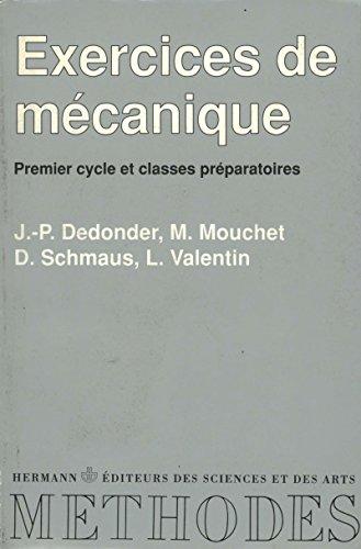 Exercices de mécanique par Luc Valentin